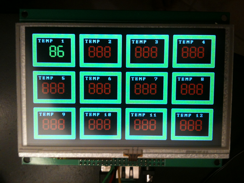 Arduino based networked temperature monitor
